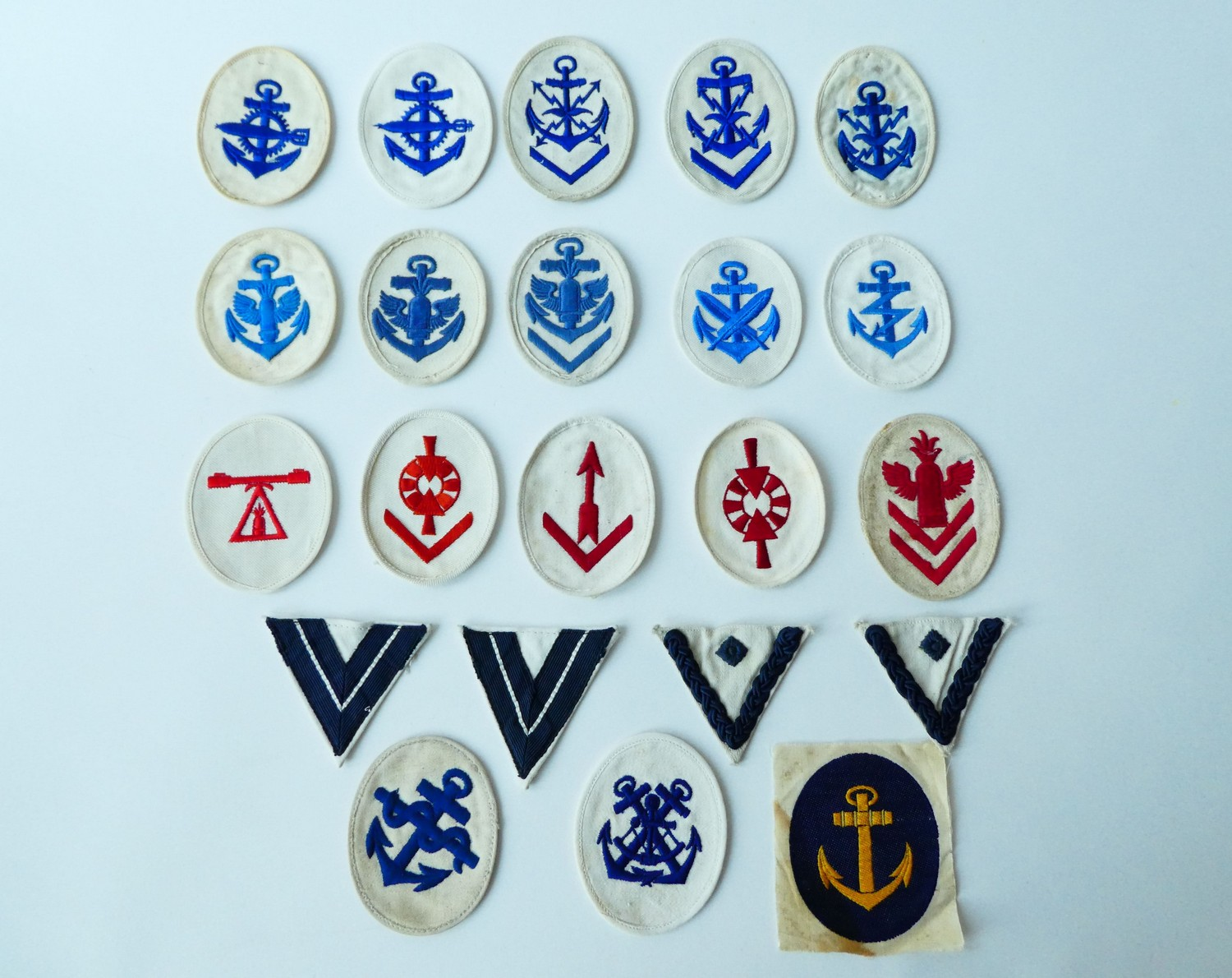 KRIEGSMARINE RANK AND CAREER INSIGNIA FOR PETTY OFFICERS