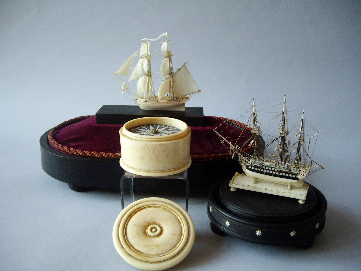 IVORY COMPASS – MADE BY GILBERT