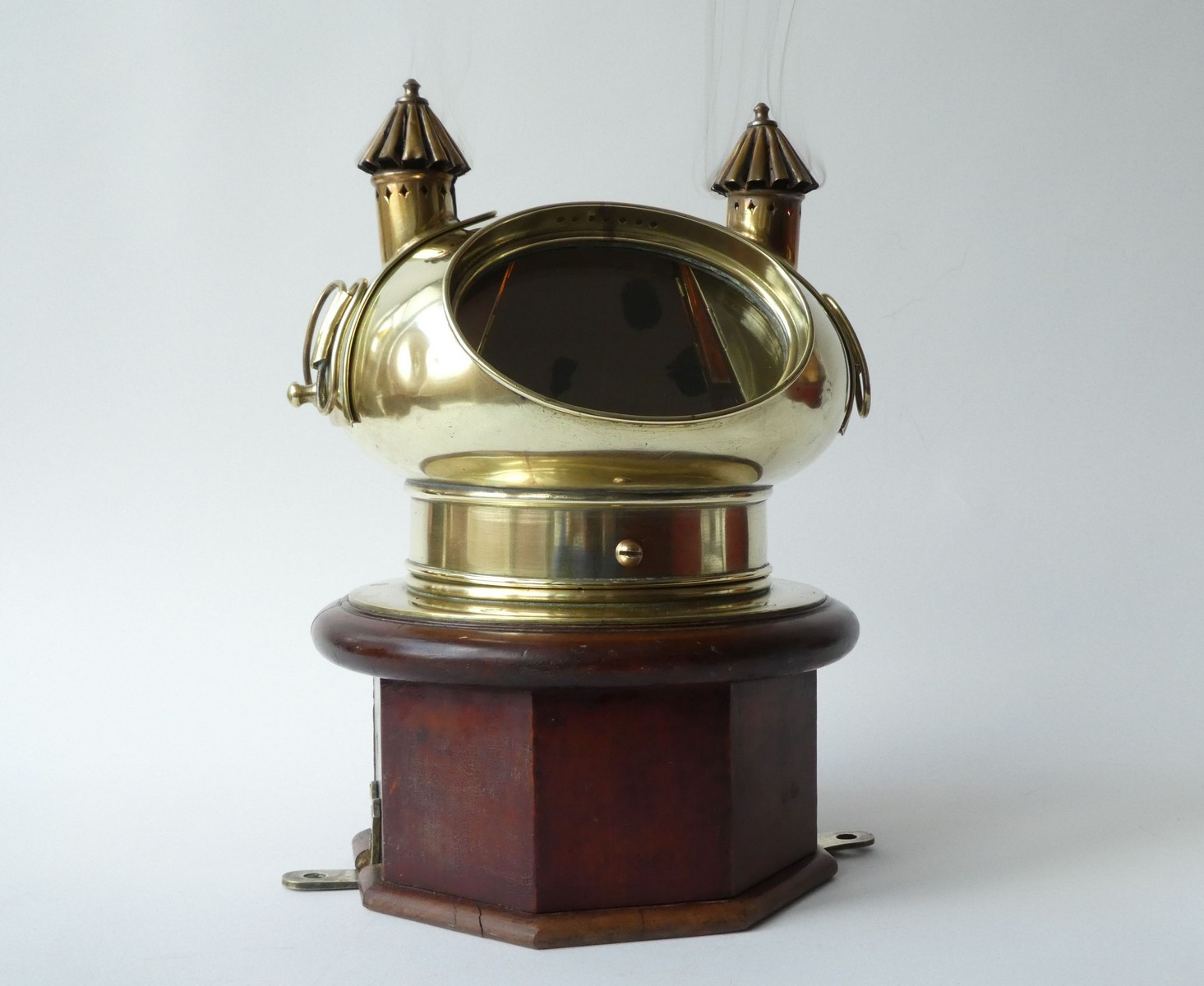 VICTORIAN BRITISH YACHT BINNACLE